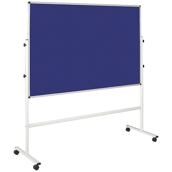 Double Sided Felt Mobile Noticeboard