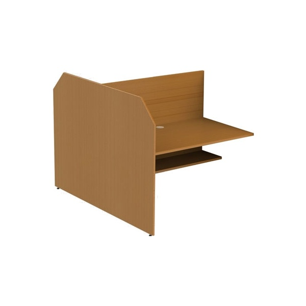 Double Sided Study Carrel