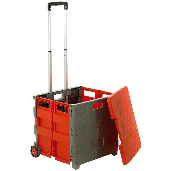 Red & Grey Folding Box Truck