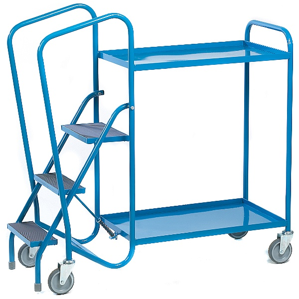 Spring Loaded Order Picking Trolleys