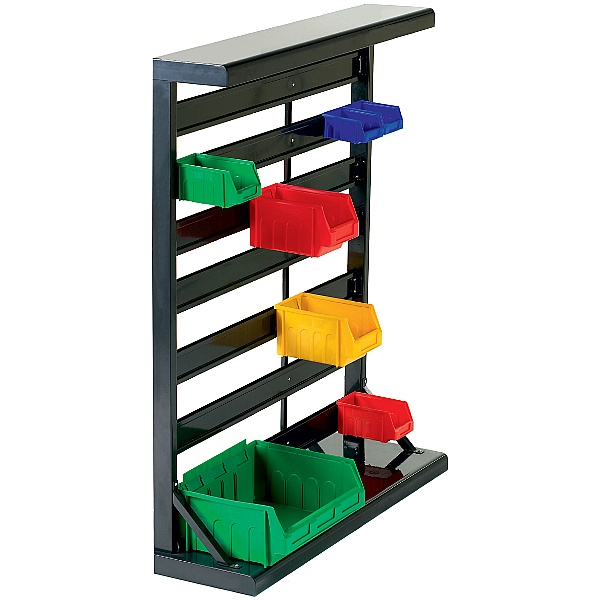 Single Sided Static Bin Rack