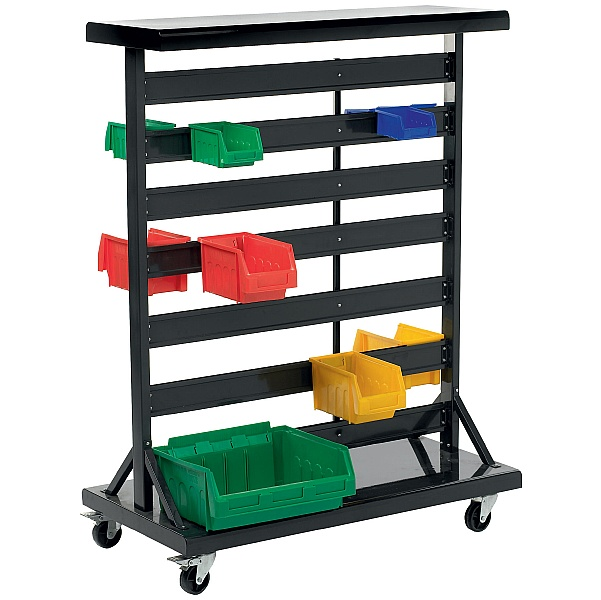 Mobile Double Sided Bin Trolley