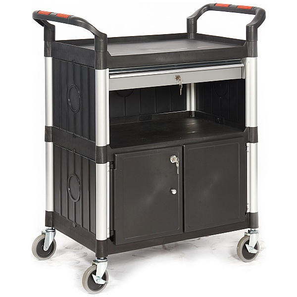 Proplaz Cabinet Trolley With Drawer