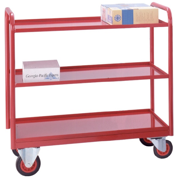 3 Tier Industrial Tray Trolleys