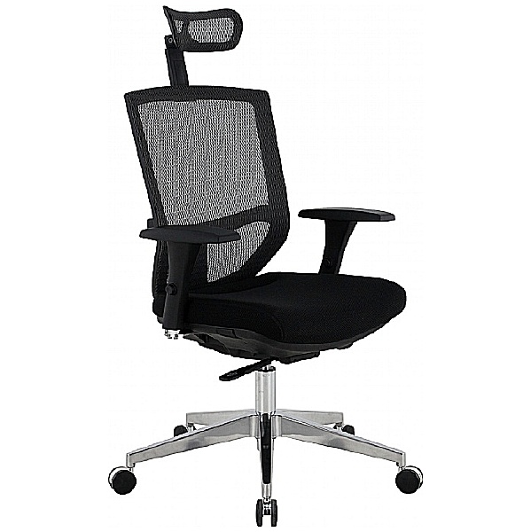 Eve 24/7 Ergonomic Mesh & Fabric Task Chair
