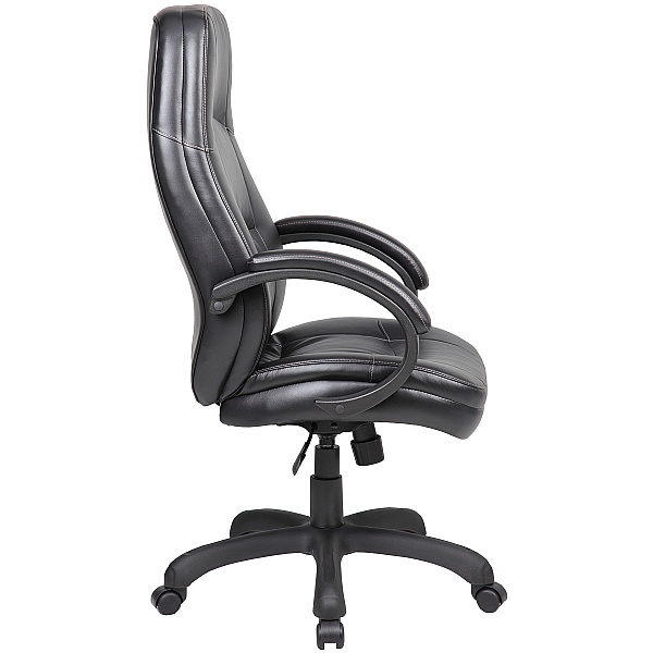 Monza Leather Look Manager Chairs