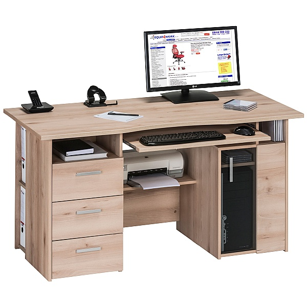 Brisbane Computer Desk Beech
