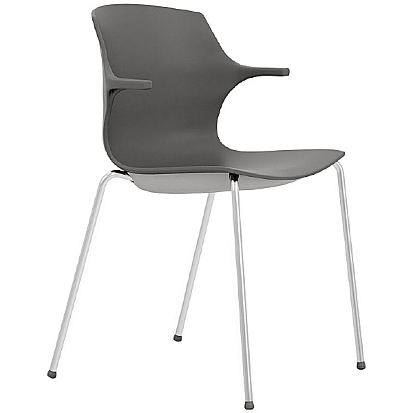 Pledge Pimlico Polypropylene 4 Leg Conference Chairs