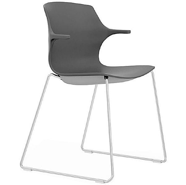 Pledge Pimlico Polypropylene Sled Base Conference Chairs