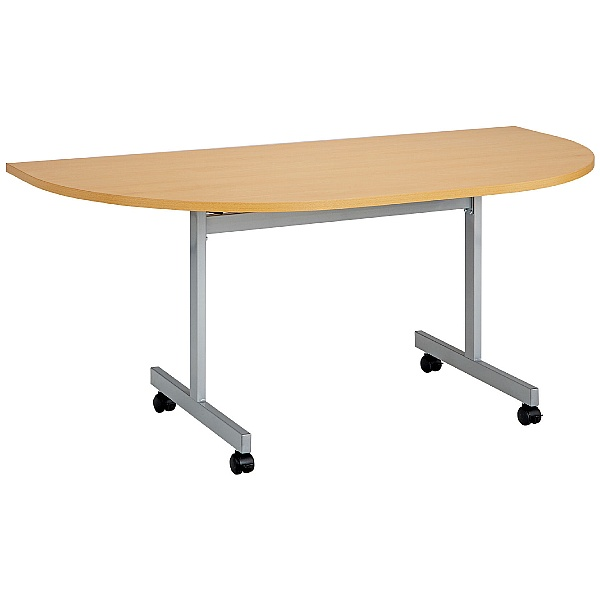 Commerce II Semi Circular Flip Top Tables