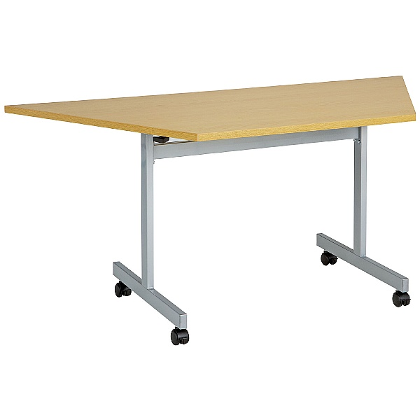 Commerce II Trapezoidal Flip Top Tables
