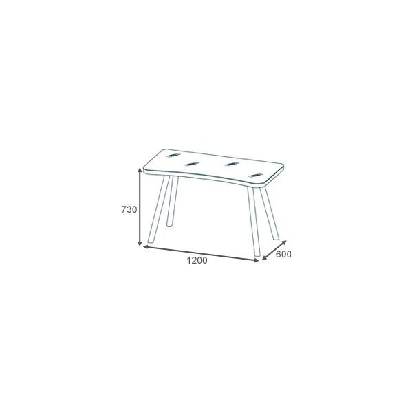 Glare Glass Computer Desk