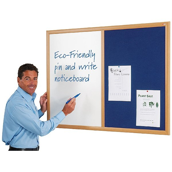 Eco-Friendly Dual Noticeboards