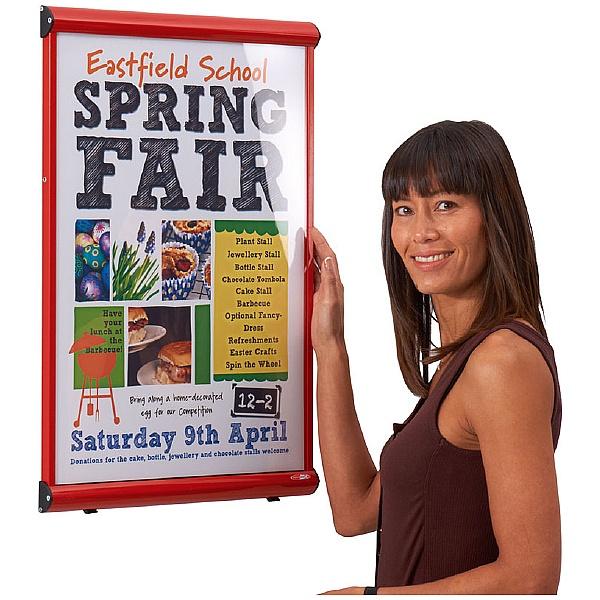 Shield Coloured Frame Postercases