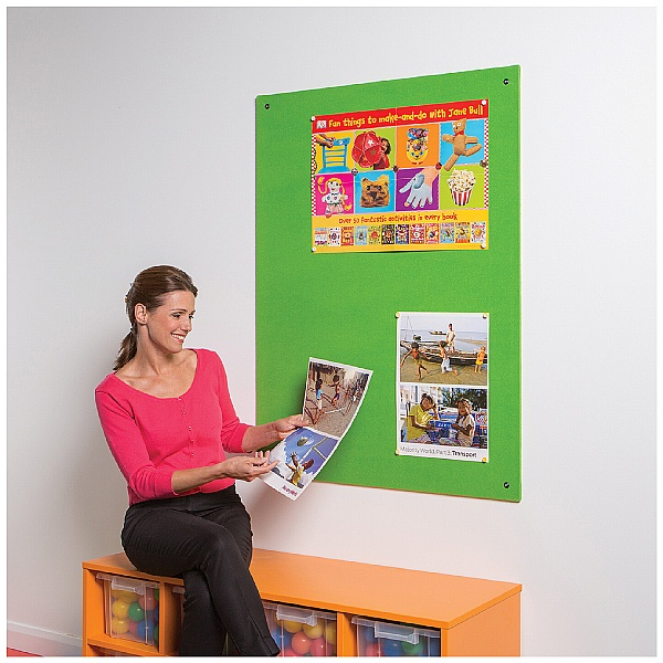 ColourPlus Frameless Felt Noticeboards