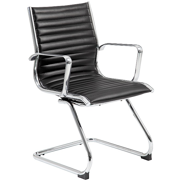 Abbey Designer Leather Visitor / Boardroom Chair