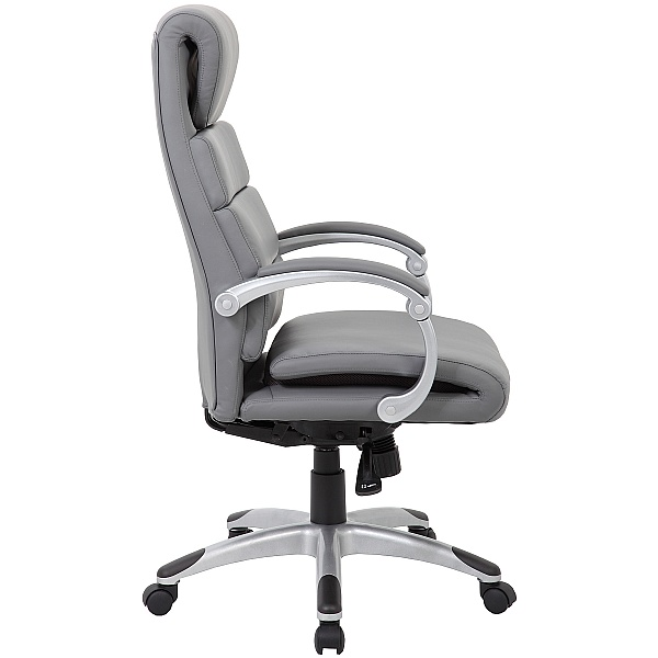 Esna Synchronous Bonded Leather Manager Chair