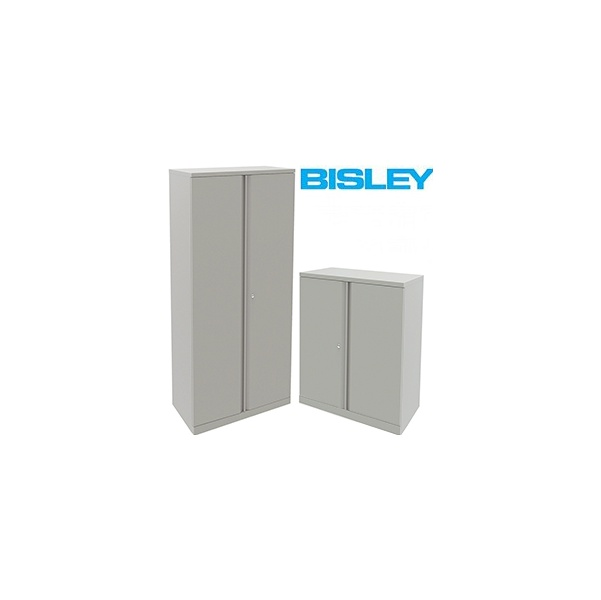 Bisley Steel Two Door Cupboards