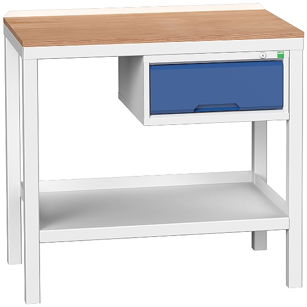 Bott Verso Benches - Welded Bench With Drawer