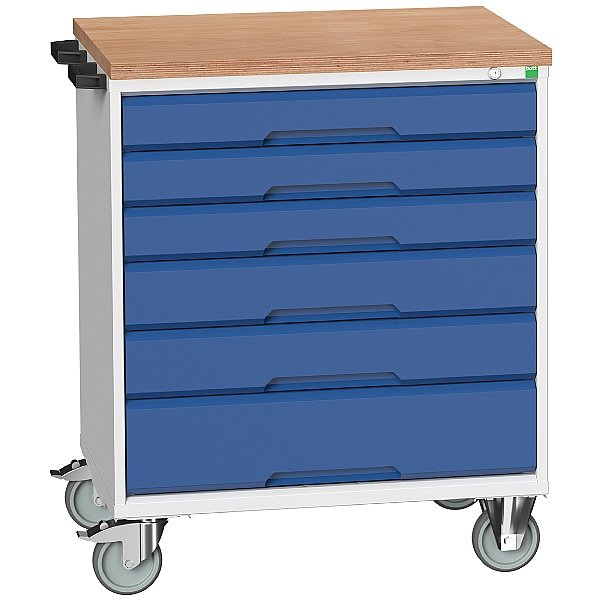 Bott Verso Mobile Roller Cabinets 800W - 6 Drawers