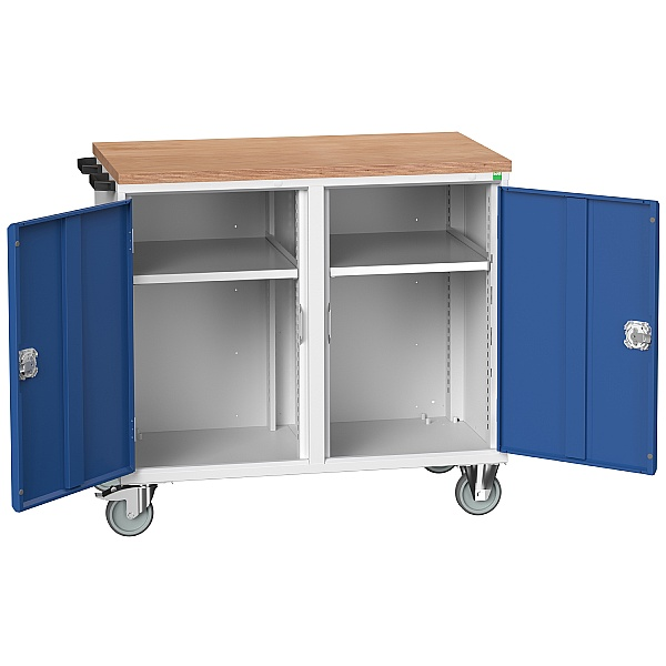 Bott Verso Mobile Maintenance Trolley - 2 Cupboards