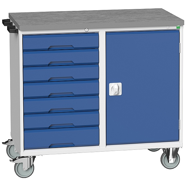 Bott Verso Mobile Maintenance Trolley Cupboard With 7 Drawers