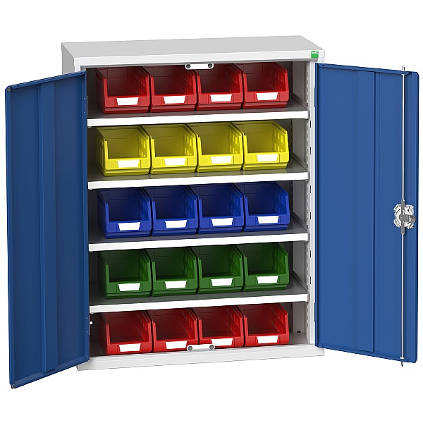 Bott Verso Bin Cupboard 20 Bins 800W x 1000H