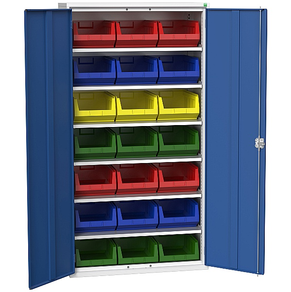 Bott Verso Bin Cupboard 21 Bins 1050W x 2000H