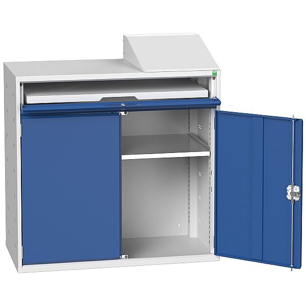 Bott Verso Computer Cupboard 1050W x 1130H - Open Top