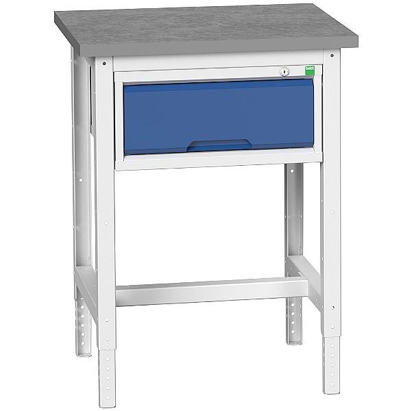 Bott Verso Benches - Height Adjustable Workstand With 1 Drawer