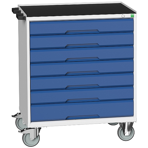 Bott Verso Mobile Roller Cabinets 800W - 7 Drawers