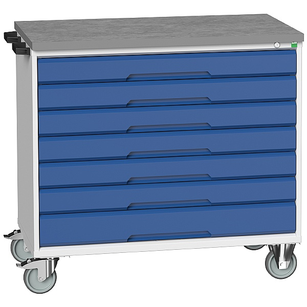 Bott Verso Mobile Roller Cabinets 1050W - 7 Drawers