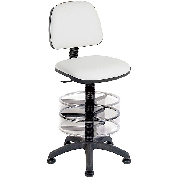 PU Draughtsmans Chair