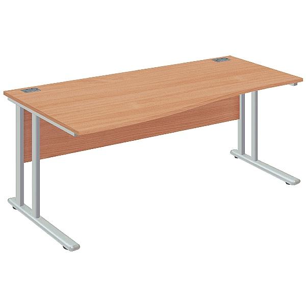 NEXT DAY Commerce II Deluxe Wave Desks