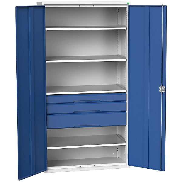 Bott Verso Kitted Cupboard 1050W 4 Shelves 3 Drawers