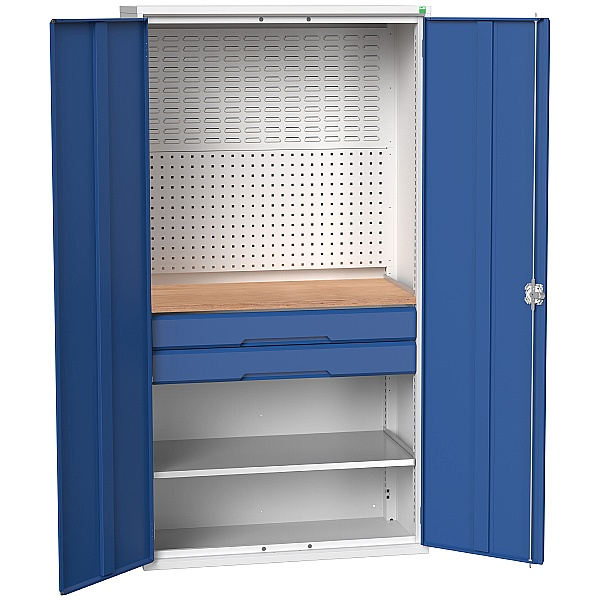 Bott Verso Mini Workshop Cupboard 1 Shelf 2 Drawers
