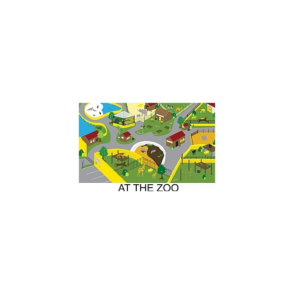 Gopak™ At The Zoo Folding Activity Tables