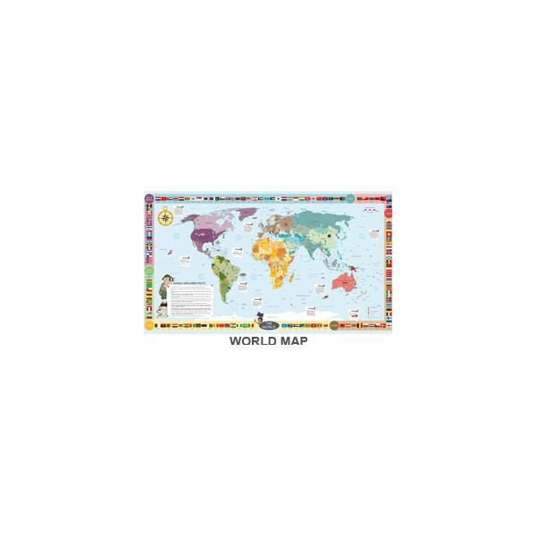 Gopak™ World Map Folding Activity Tables