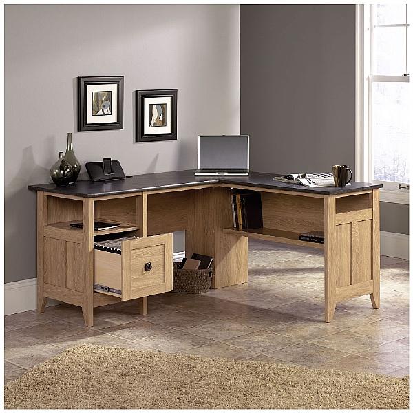 Dover Oak Computer Desk