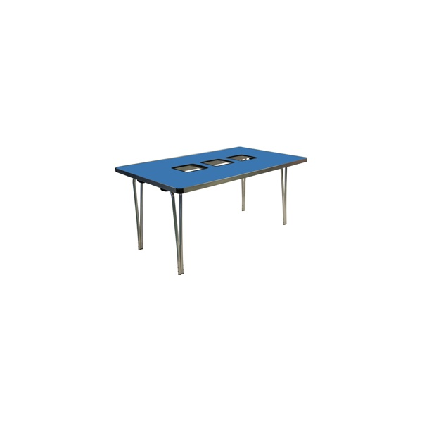 Gopak™ Three Tub Folding Tables