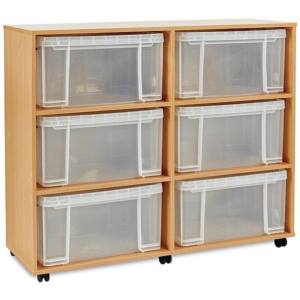 Really Useful Box Combination Storage Unit 6 x 48L