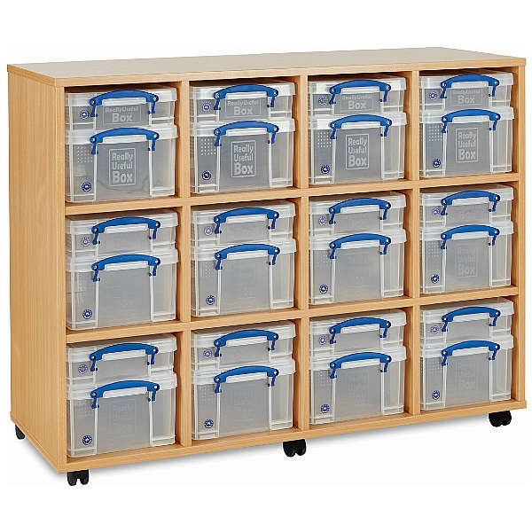 Really Useful Box Combination Storage Unit 12 X 4L / 12 X 9L