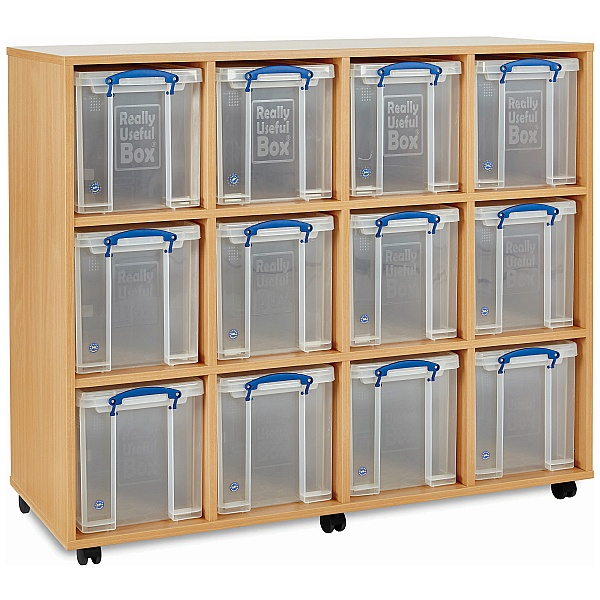 Really Useful Box Combination Storage Unit 12 x 24L