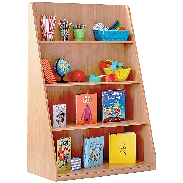 Library Unit With 4 Fixed Straight Shelves