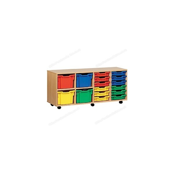 16 Tray Combi Mobile Storage