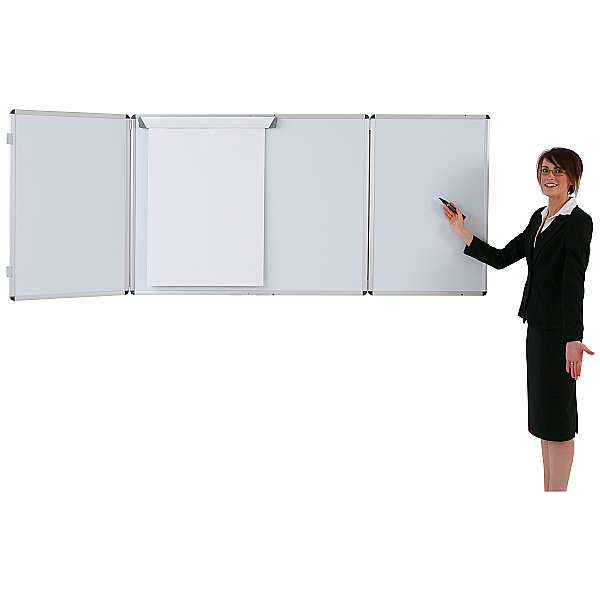 Tamperproof Space Saving Dry Wipe Whiteboards