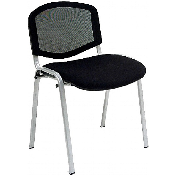 Mono Mesh Conference Chair With Grey Frame (Pack of 4)