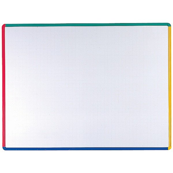 Citadel Coloured Frame Non Magnetic Dry Wipe Board