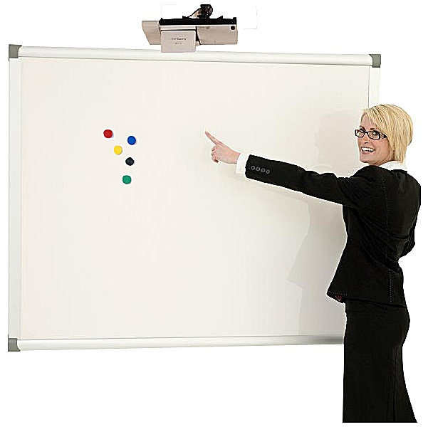 Province Dry Wipe Magnetic Projector Screen/Board