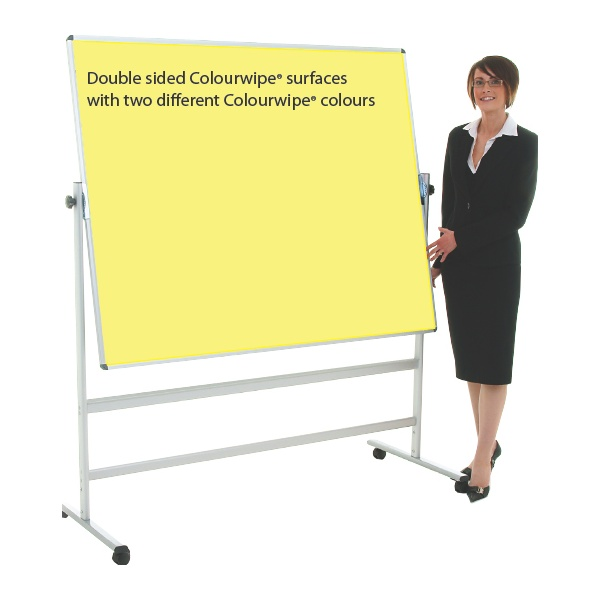 Citadel Colourwipe Mobile Dry Wipe Boards